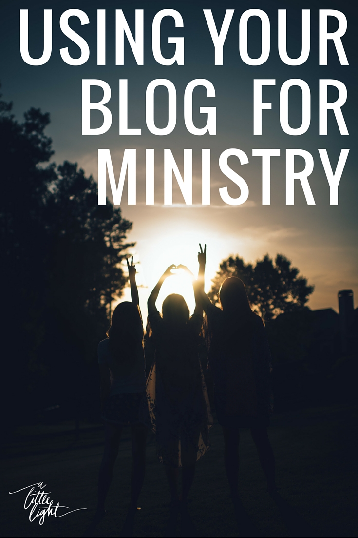 A Collaborative interview of canadian christian women using their blogs for ministry
