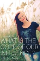 Jojo Smith about what is the core of our God given influence