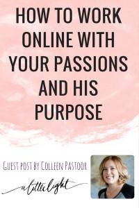 Colleen Pastoor guest post