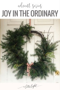 slowing down to find joy in the ordinary
