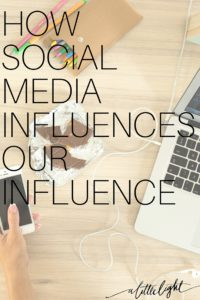 social media influences us