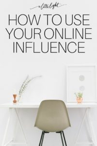 Points to consider for christian women working online and how they are using their influence