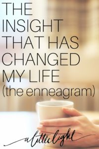 enneagram changed my life