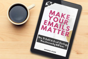 Make Your Emails Matter Mockup